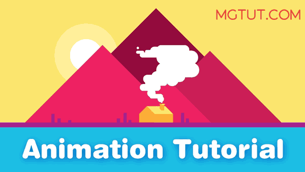 扁平化烟雾MG动画AE教程 After Effects - Quick and Easy Smoke Animation Tutorial