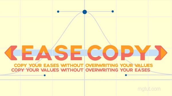 AE关键帧动态属性复制粘贴脚本 EaseCopy V1.0