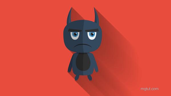 扁平化长投影卡通怪兽AI教程(中英文字幕) Flat Design Monster Illustrator Tutorial