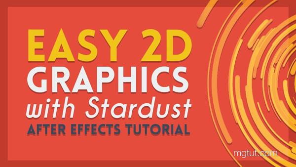 Stardust插件制作MG线条动画教程(中英文字幕) Particle Based Motion Graphics