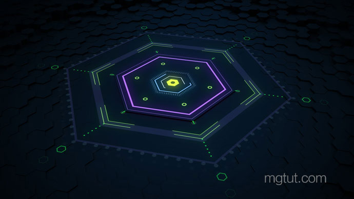 AE+C4D制作三维线条MG动画教程 3D Motion Graphics Tutorial with Cinema 4D and After Effects
